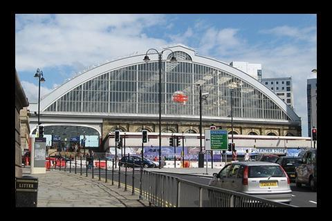 Just awful The grade II-listed Liverpool Lime Street station opened in 1836.